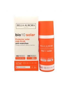Bella Aurora Bio10 Anti-Blemish Sunscreen UVA-Plus SPF50 + Normal-Dry Skin, 50 Ml.