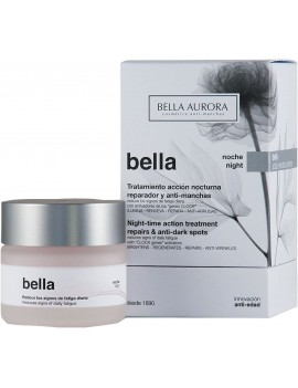 Bella Aurora Anti-Wrinkle Night Cream for Women 35+  50 ml | Anti-Aging Anti-Spots