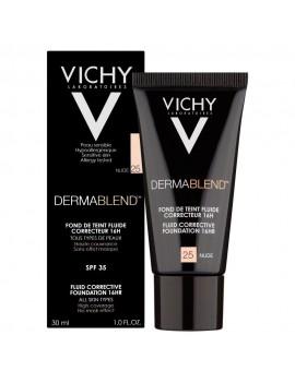 Vichy DERMABLEND Corrective Fluid Foundation 30ml. 16h. - NUDE25