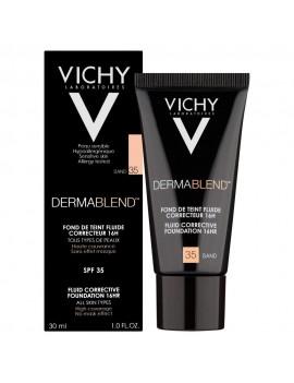Vichy DERMABLEND Corrective Fluid Foundation 30ml. 16h. - SAND35