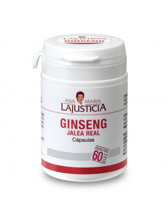 GINSENG WITH ROYAL JELLY FOR 60 DAYS