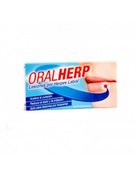 Oralherp Cold Sores Cream 6 ml